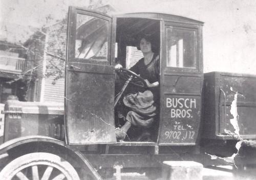 Busch Bros. Ice Truck