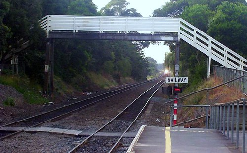 Historic Middlemore rail station overbridge (removed, 2008)