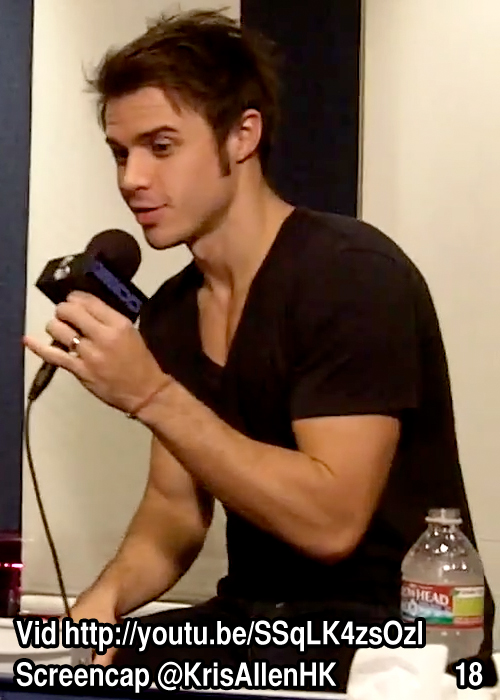 Kris Allen sexy picture from Billy Bush show