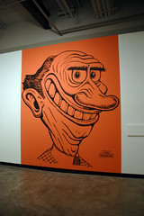 Basil Wolverton - wall portrait - Grand Centra...