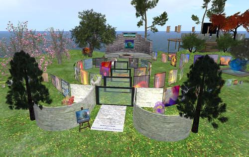 Storybook Poetry Garden
