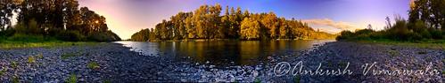 McKenzie River 360 degree Panorama