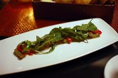 Globe Artichoke, Local Potato, Arugula, Peppers, Bagna Cauda