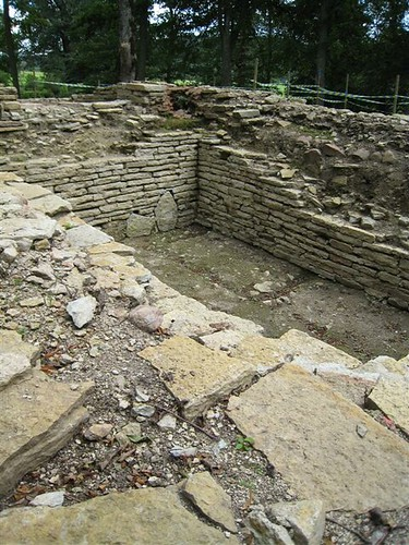 Excavations at church of Varnhem, SW Sweden