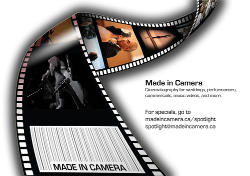 Made in Camera ad for Spotlight 2KX