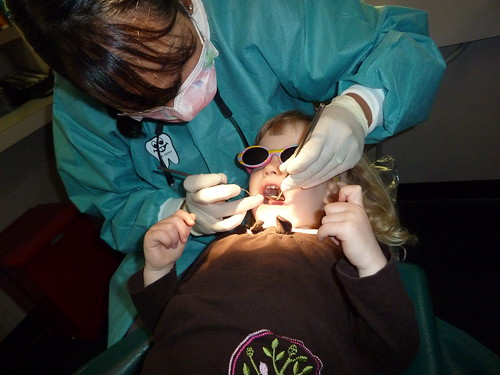 First trip to the dentist!