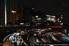 View of 23 de Maio avenue near Bandeiras square and Chá bridge