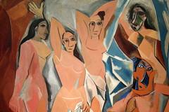 NYC - MoMA: Pablo Picasso's Les Demoiselles d'...