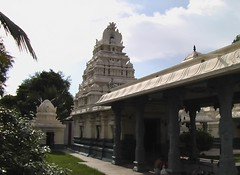 Vimanam of the main sannidhi