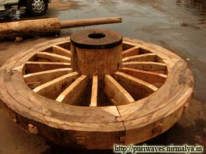 Wheel of chariots Rath