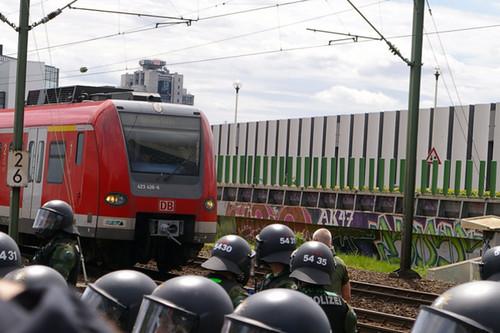 7. Juli 2007 Frankfurt a.M (07) - Sonderfahrt der Nazis