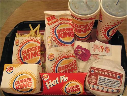 burger king dinner