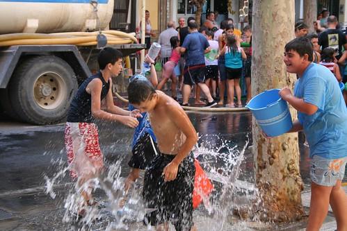 Lanjaron Water Fight
