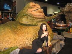 Jabba with Vampira