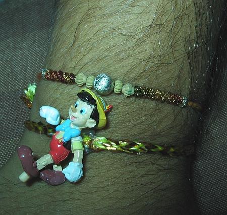 my pinocchio rakhi