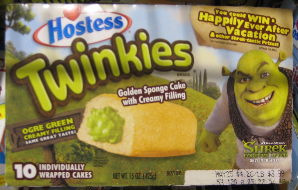Shrek Twinkies