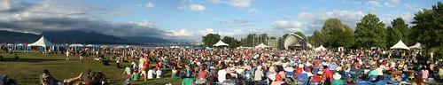 Vancouver Folk Music Festival Panorama