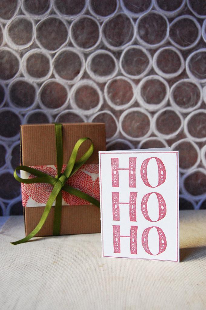 Ho Ho Ho | Folded Card