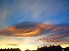 Bizarre Cloud  Triangle