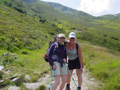 Catherine and Janina