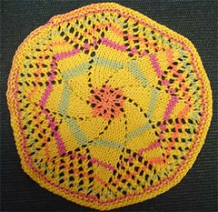 Circular Dishcloth