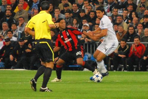 Khedira con Ronaldinho