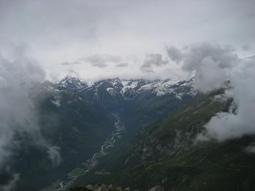 Panorama dall'Uja di Bellavarda