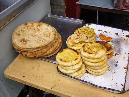 Breads in the Muslim Quarter-Xian