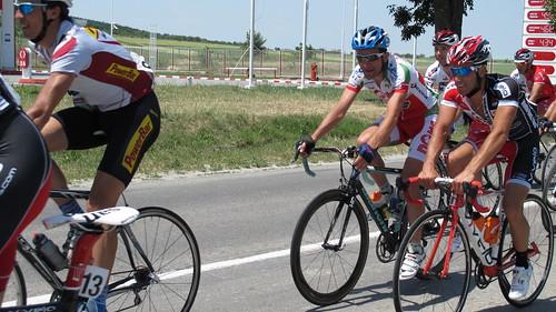 turul ciclist al României la intrare in Hârşova