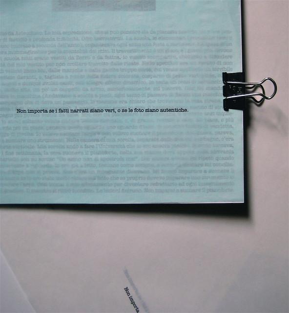about, blocknotes, a cura di Federico Novaro, grafica di Stefano Olivari, packaging di Cristina Balbiano d'Aramengo, p. 1 (part.), 2