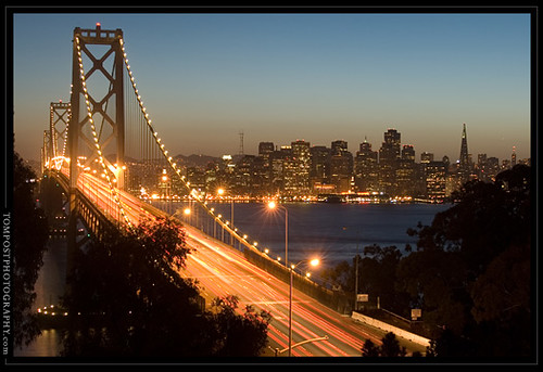 San Francisco Bay Bridge by tompost.