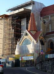 Portail peint Cathédrale (23 septembre 2007)