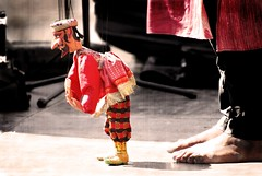 Master of the puppets / Maestro de marionetas