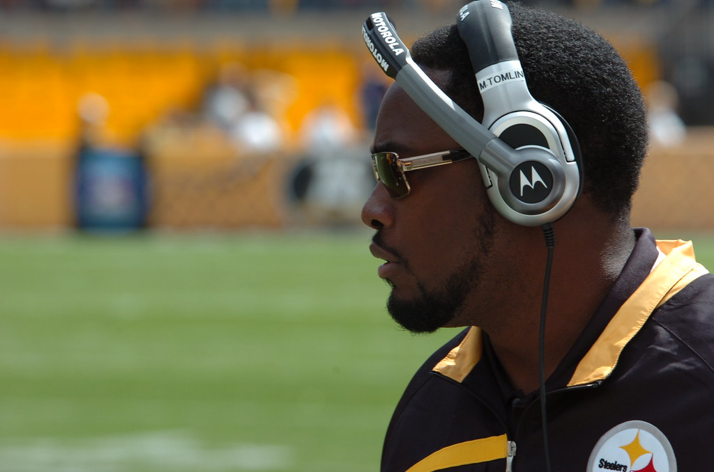 Mike Tomlin, picture by SteelCityHobbies (flickr)