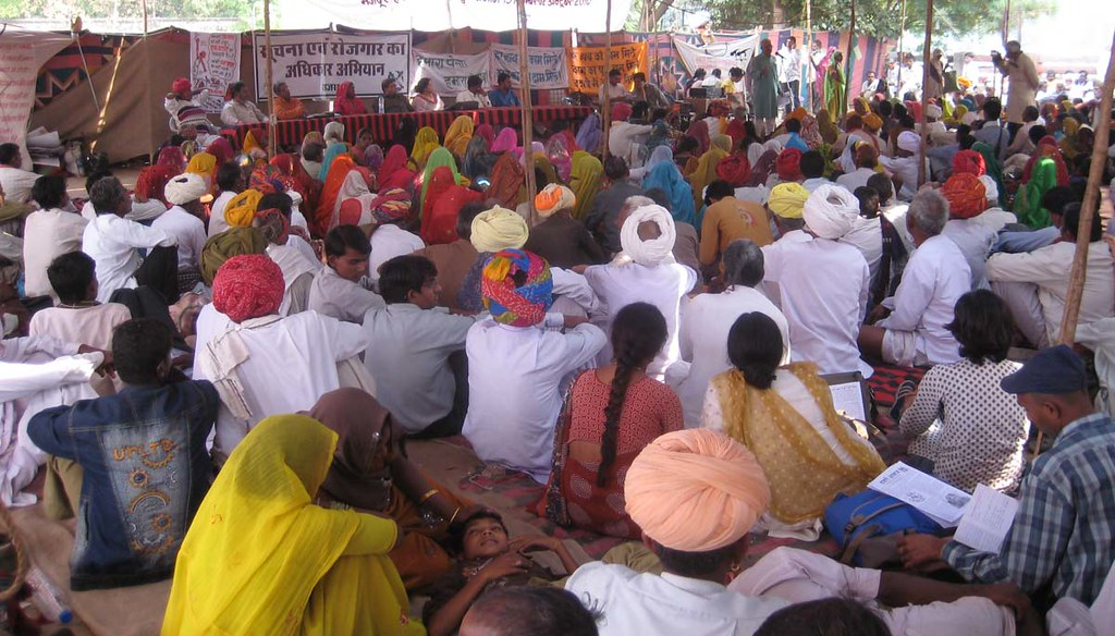 Pics from the satyagraha - 30 Oct 2010 - 6