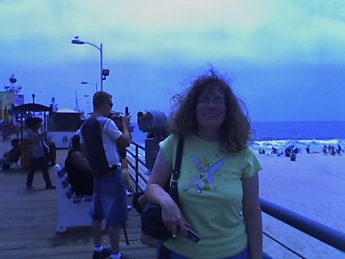 Stephanie on Santa Monica  Pier