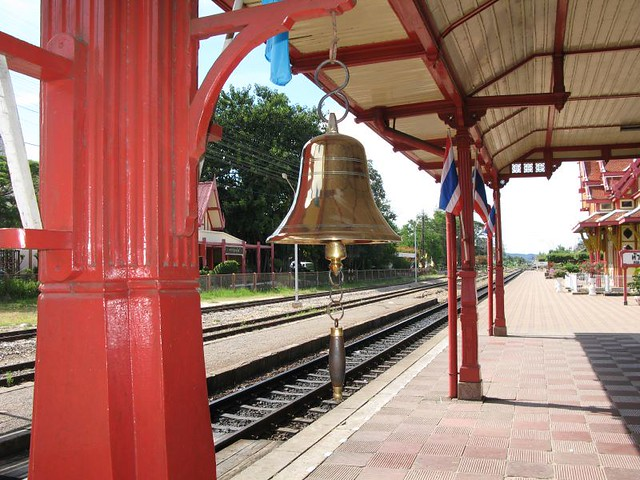 Hua Hin Rail Station - Platform Bell