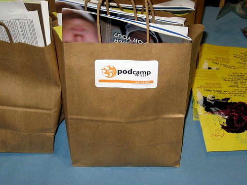 PodCamp Philly Schwag Bag!
