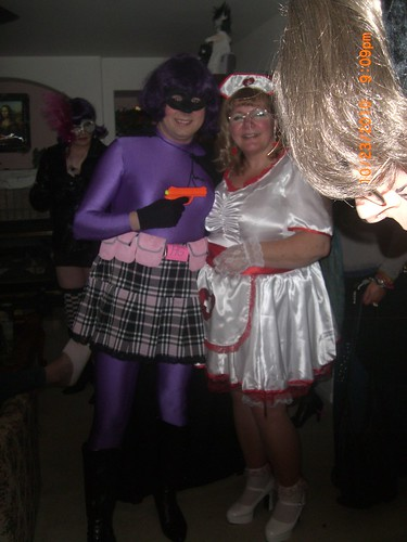 Hit Girl and Friend