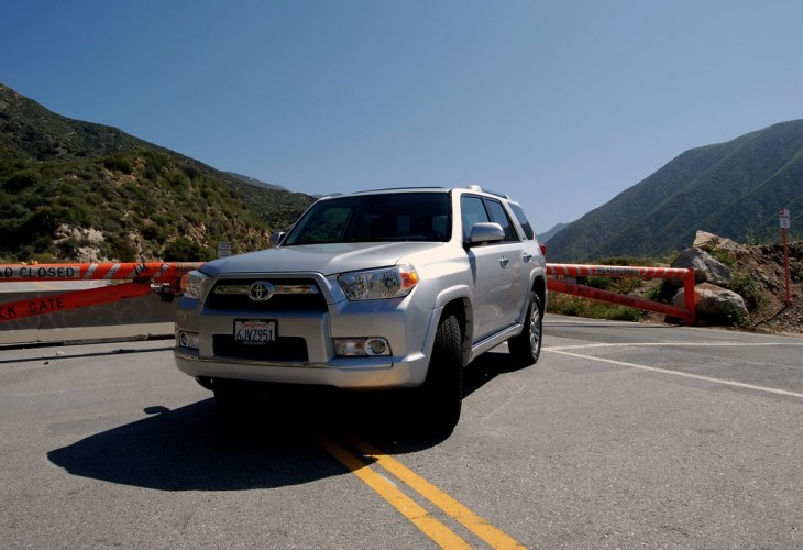 The 2010 Toyota 4Runner is PISSED