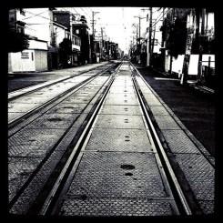 いつもの電車路