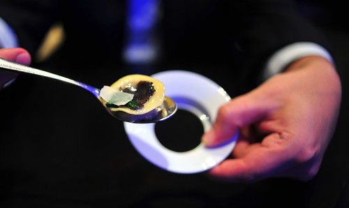11th Course: Black Truffle Explosion