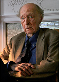James Purdy has died. E' morto james Purdy. (5): James Purdy at his apartment in New York in 2005. ©Bebeto Matthews/Associated Press, da: The New York Times