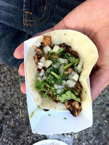 Jerk Jackfruit Taco