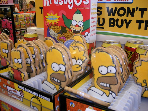 Simpsons Cookies at the Las Vegas Kwik-E Mart