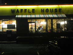 Waffle House at Night