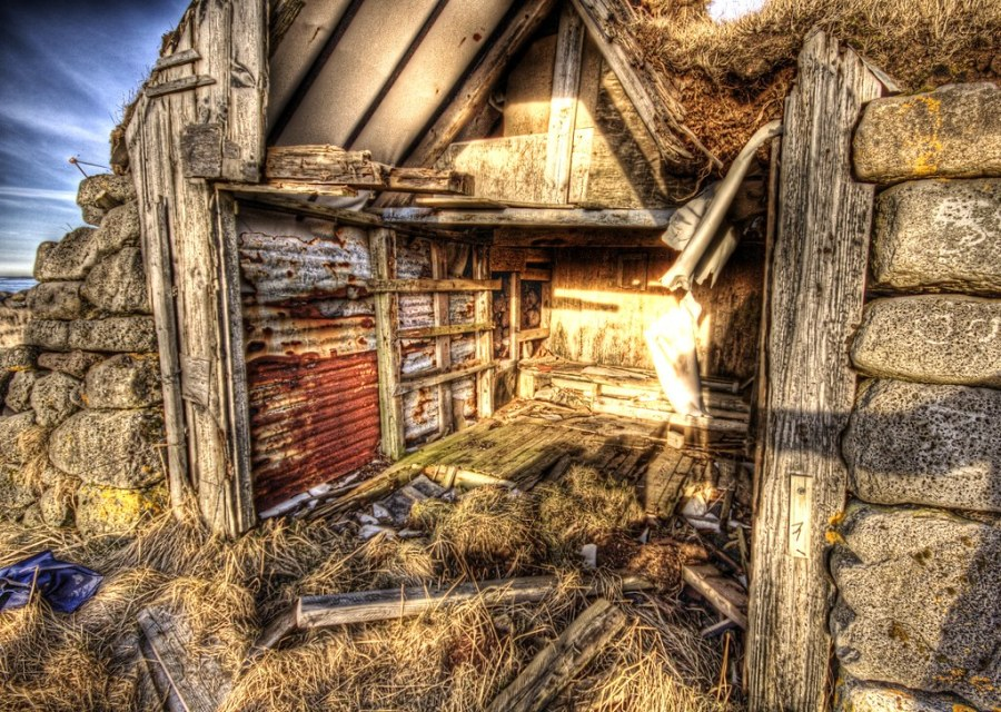 Textures in the Ruined Shed