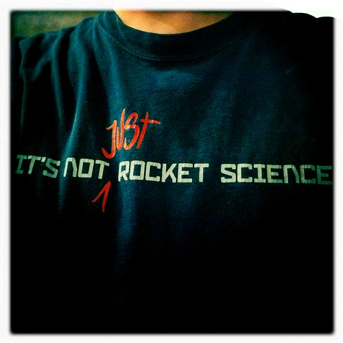 It's not just rocket science