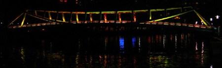 Alkaff Bridge at Night