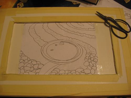 tapestry cartoon